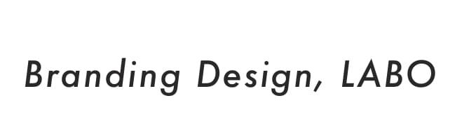 Branding design,LABO